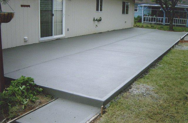 Patios and Driveways - Terrastone Concrete on Poured Concrete Patio Ideas id=52651